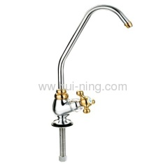 prefect three way goose neck faucet