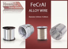 FeCrAl Alloy Electric Heating Element Wire