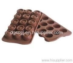 Silicon chocolate mold--15 piece per mold
