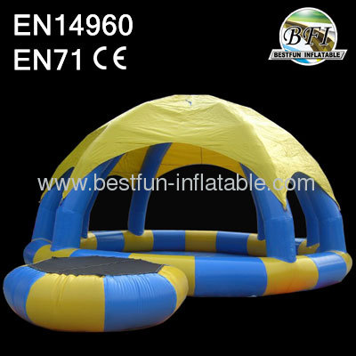 Air Tight Inflatable Pool Tent