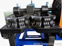 Singlle wall corrugated pipe extrusion line