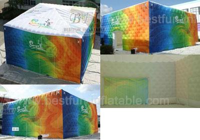 Sanya Inflatable Cube Tent