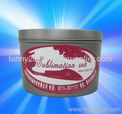 Sublimation Transfer Ink for Fabric