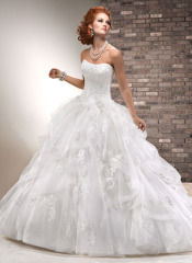 Classic Bridal Dress Best chiffon