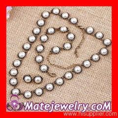 Imitation Pearl Jewelry Set
