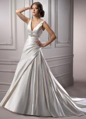 cheap bridal gown