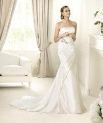 silk bridal gowns dress