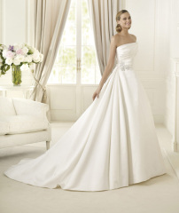 Lambswool wedding dress