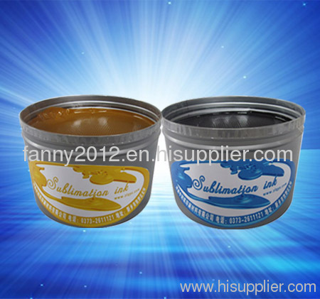Fabric Sublimation Offset Printing Ink
