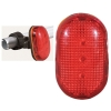 BRIGHTEST LED bicycle flashlight for traffic safety