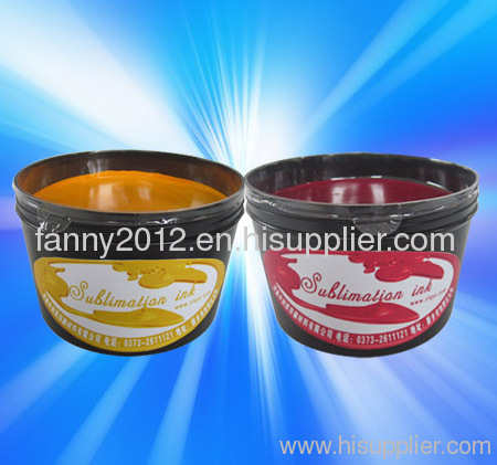 Synthetic Fabrics Sublimation Offset Ink