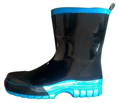 Kid's rubber rain boots