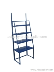 foldable metal floor shop stand