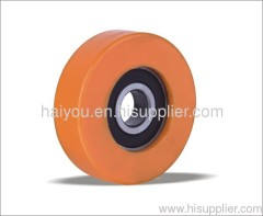 guide roller pu with bearing