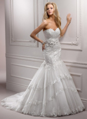 Nylon wedding dress