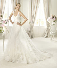 Newest Dicount Long Halter Wedding dresses