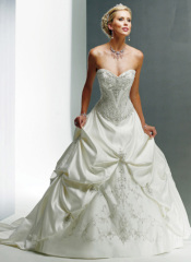 embroidery new wedding dresses