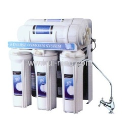 Five purification treatment water purifier machine