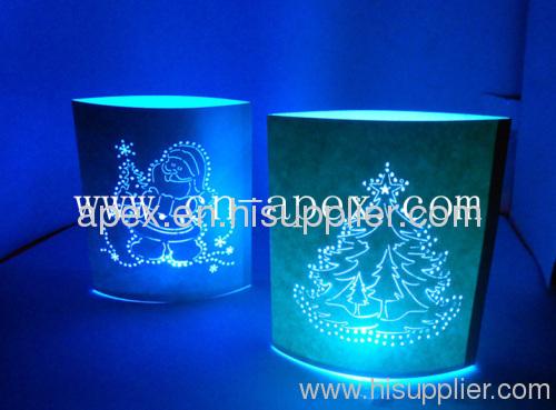 LED Christmas paper light
