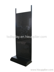 Metal Pegobard displays rack