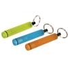 Cylindrical type mini colorfull flashlight with keyring