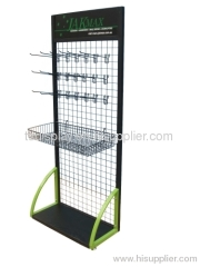 Wire mesh basket stand