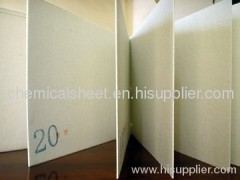 2.0mm chemical sheet for shoes