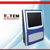 Coin acceptor wall mounted touch screen jukebox karaoke player