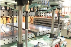 PC Hollow wall sheet production line
