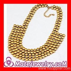 Seed Bead Bib Necklace