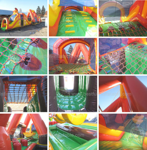 Inflatable Obstacle Course Gladiator Special