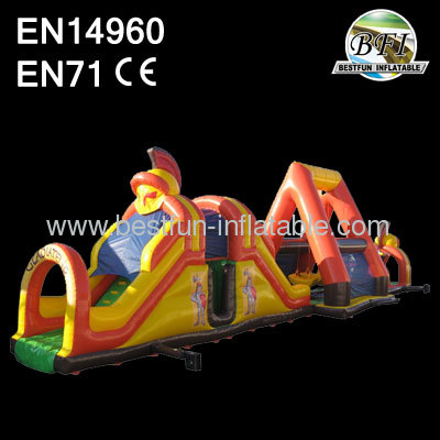 Gladiator Special Obstacle Course Inflatable