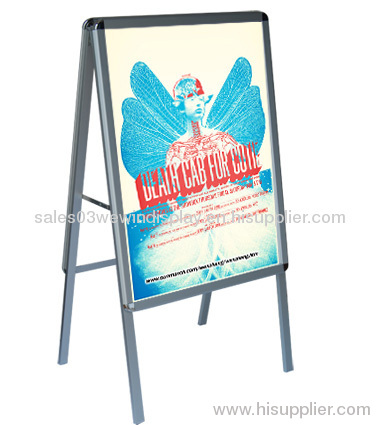 Aluminum A Poster stand , A frame board