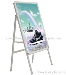 outdoor single side frame A shape Aluminum poster stand