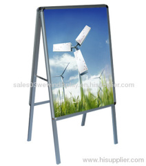 Aluminum Poster Stand:Double-sided A Board
