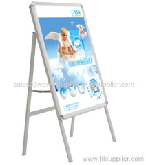 one sided aluminum poster stand