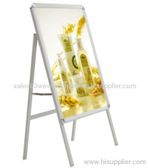 hotsale outdoor aluminum poster stand