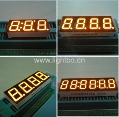 Amber 7 segment led numeric display, various character height available