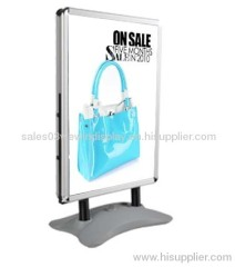 Aluminum outdoor poster stand