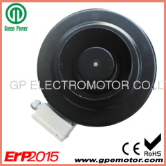 150 48V EC In-line Circular Duct Fan for ventilation system