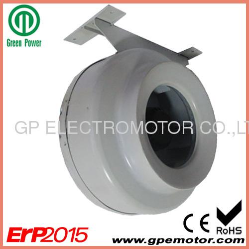 "24V 4"" inch 100 Circular EC Duct Fan blower designer and producer"