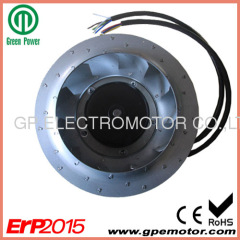Solar power inverter EC centrifugal fan Blower R3G250