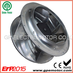 Heat pump EC Centrifugal Fan blower with brushless DC motor