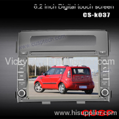 CAR DVD PLAYER WITH GPS FOR KIA SOUL 2012