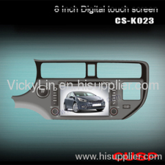 SPECIAL CAR DVD PLAYER WITH GPS FOR KIA K3 2012