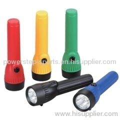 portable emergency 4 led torch lamp