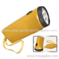 7 led rechargeable emergency flashlight