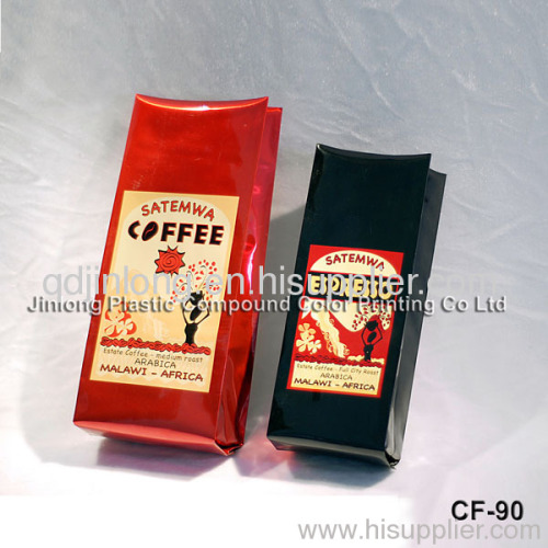 coffee bag with side gusset