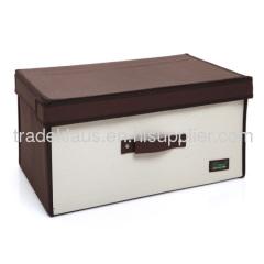 High quality non-woven foldable storage box, small/medium/big size