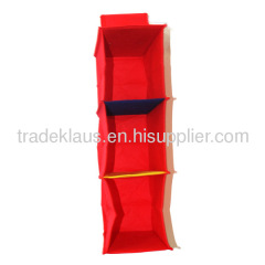 3/4/5/6 layered cloth-stored hanging bag organizer